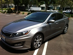 Kia optima appraisal